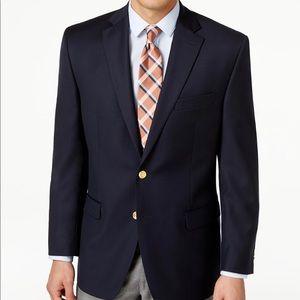 Ralph Lauren Total Comfort Blazer Blue Gold